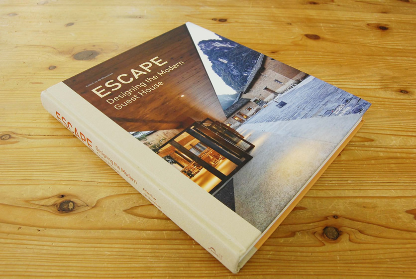 掲載:Escape:Designing the Modern Guest House・ 「ホステルみつわ屋大阪」