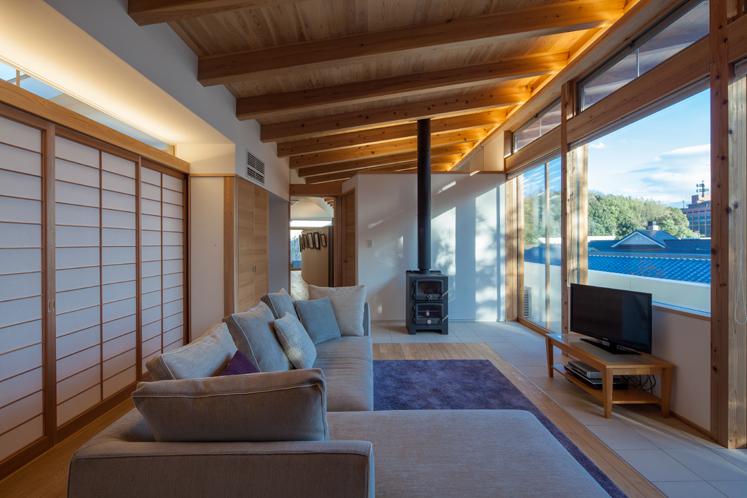 入選:「鳥居町の家」・「第35回三重県建築賞 住宅部門」